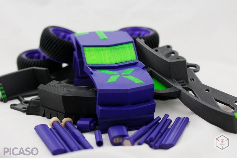 Как печатает Picaso 3D Designer X Pro - 4