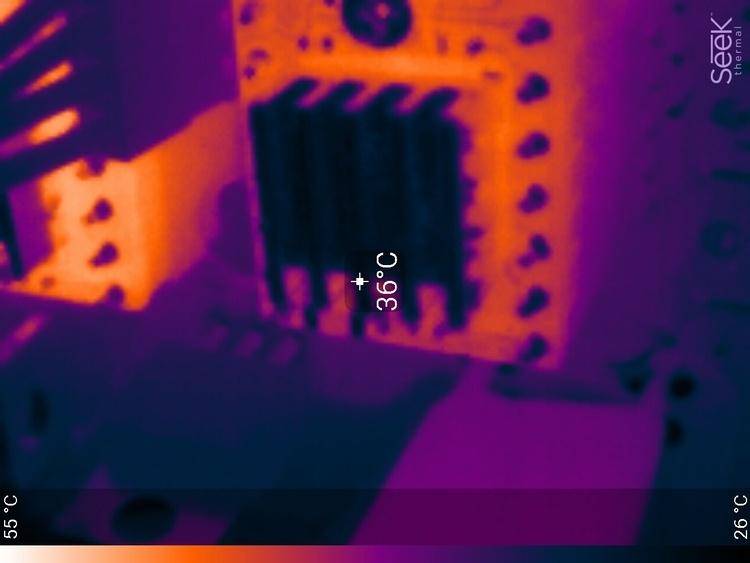 Тепловизор в мастерской DI HALT'a - 16
