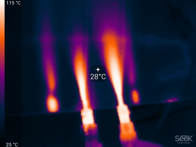 Тепловизор в мастерской DI HALT'a - 20