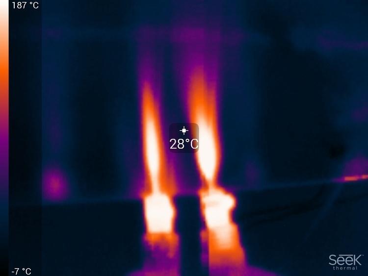 Тепловизор в мастерской DI HALT'a - 21