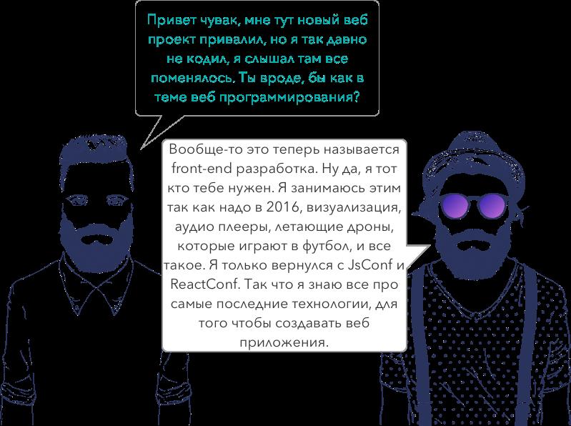 Введение в React и Redux для бекенд-разработчиков - 1