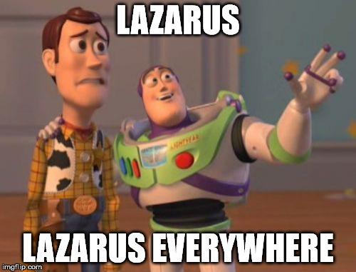 Lazarus вездесущий - 1