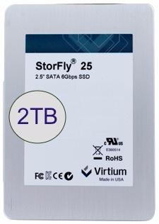 Модель StorFly CE на основе памяти MLC теперь доступна объемом 2 ТБ, модель StorFly XE на основе памяти iMLC — объемом 1 ТБ