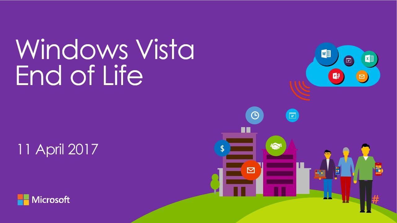 Корпорация Microsoft завершила поддержку ОС Windows Vista - 1