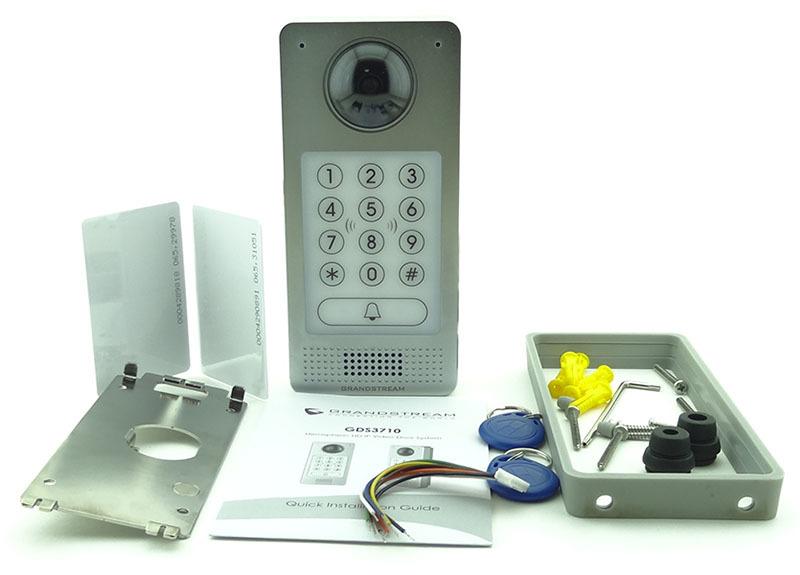 Новый SIP-домофон Grandstream GDS3710 - 5
