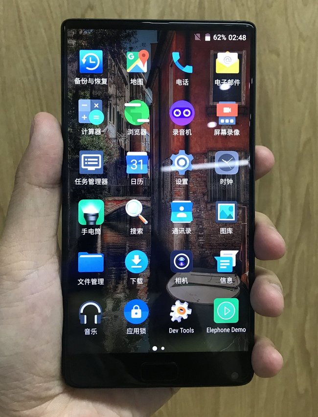Опубликованы реальные фотографии безрамочного смартфона Elephone S8