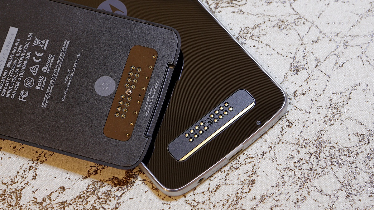 Moto mods: подробно обо всех четырех сменных модулях для смартфонов Moto Z и Z Play - 2