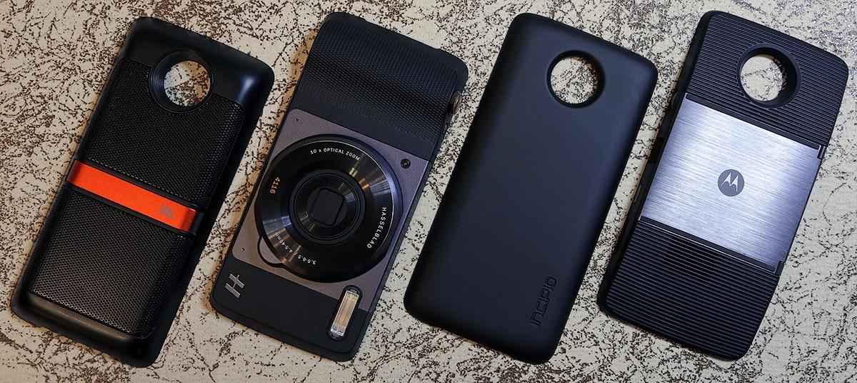 Moto mods: подробно обо всех четырех сменных модулях для смартфонов Moto Z и Z Play - 1