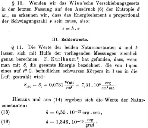 Почему на то, чтобы найти точное значение постоянной Планка, понадобилось 100 лет? - 127
