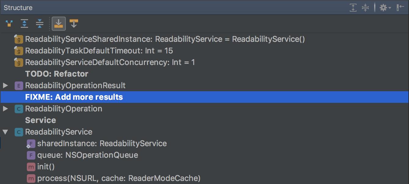AppCode 2017.1: улучшенная поддержка Swift, новые возможности кодогенерации и многое другое - 9