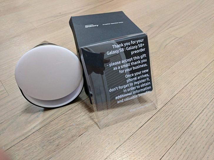 Оформившие предзаказ на Samsung Galaxy S8 в США получают в подарок акустическую док-станцию
