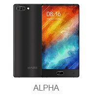 Опубликованы характеристики и новые изображения безрамочного смартфона Maze Alpha