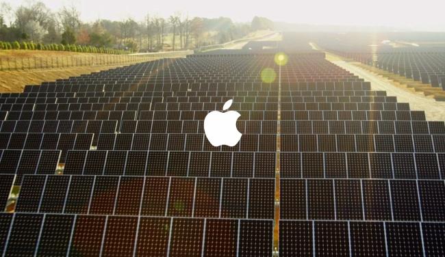 Поставщики Apple также полностью переходят на возобновляемые источники энергии