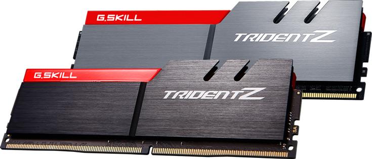 G.Skill выпускает набор модулей памяти DDR4-4333 объемом 2 х 8 ГБ и рапортует о достижении скорости DDR4-4500