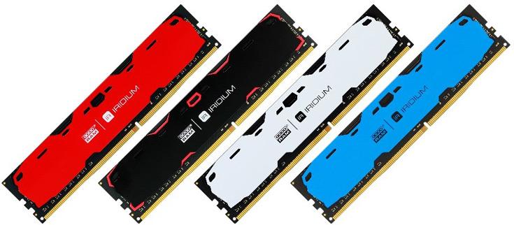 Модули IRDM DDR4 выпускаются объемом 4 и 8 ГБ