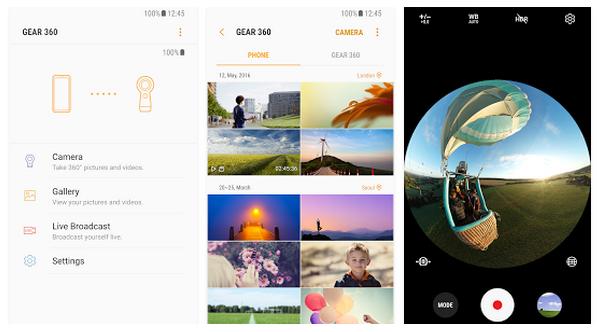 Выпущено приложение для обновленной камеры Samsung Gear 360