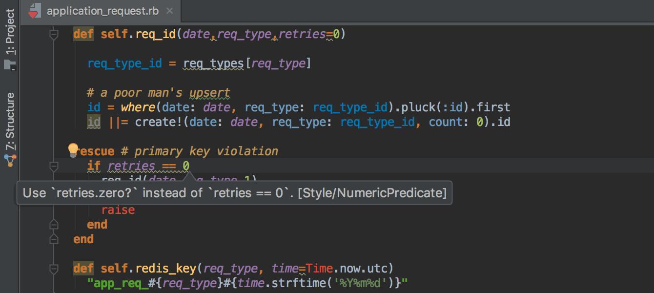 RubyMine 2017.1: Docker, RuboCop, автогенерация Rails-тестов, улучшения для Puppet - 5