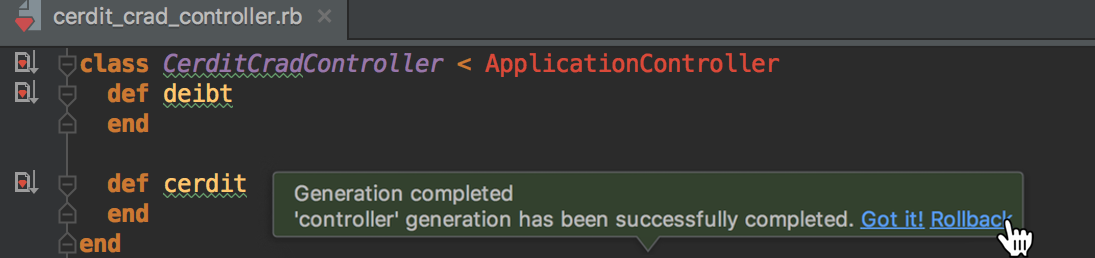 RubyMine 2017.1: Docker, RuboCop, автогенерация Rails-тестов, улучшения для Puppet - 7