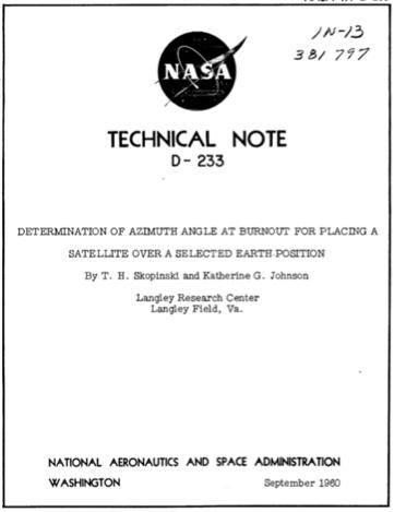Фильм «Скрытые фигуры»: задачи из фильма и современный подход к расчетам орбиты и возвращения на Землю - 3