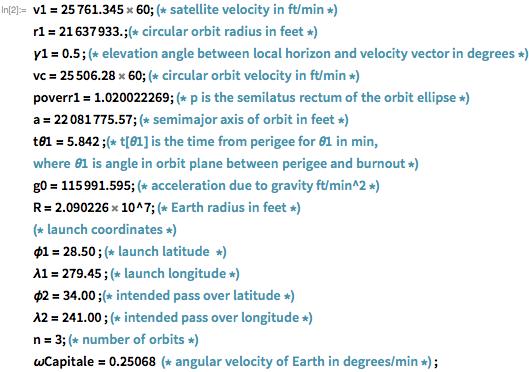 Фильм «Скрытые фигуры»: задачи из фильма и современный подход к расчетам орбиты и возвращения на Землю - 4
