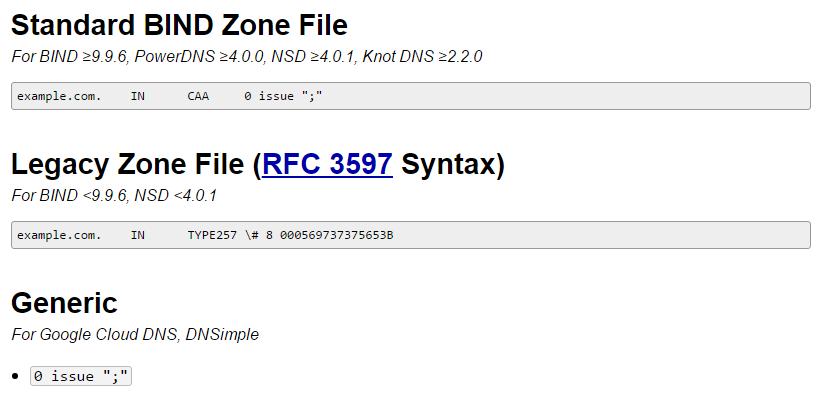 «Теперь обязательно»: Выдача SSL-сертификатов с учетом DNS-записи - 2