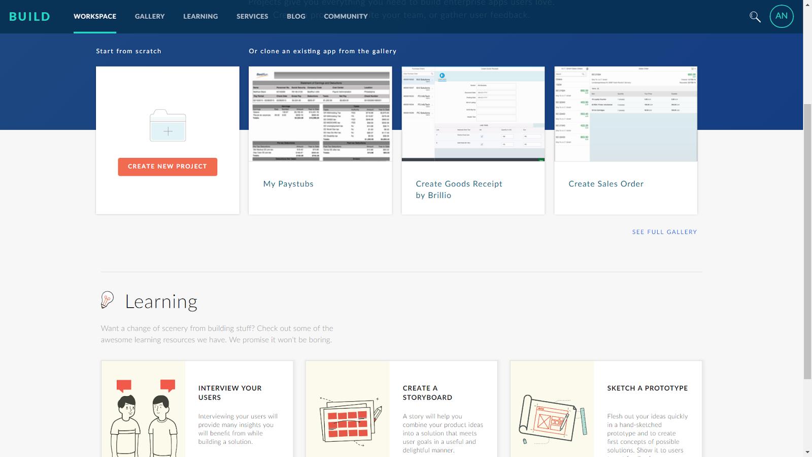 SAP BUILD – инструмент построения пользовательских интерфейсов - 3