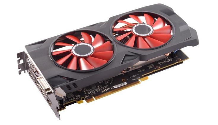 Карта XFX Radeon RX 570 RS 4GB XXX Edition получилась короче старших моделей