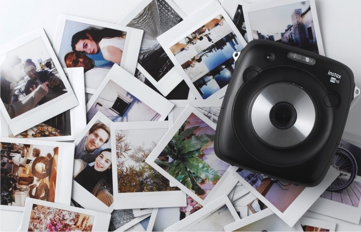 Цифровая камера с функцией мгновенной печати Fujifilm Instax Square SQ10 оценена в $280