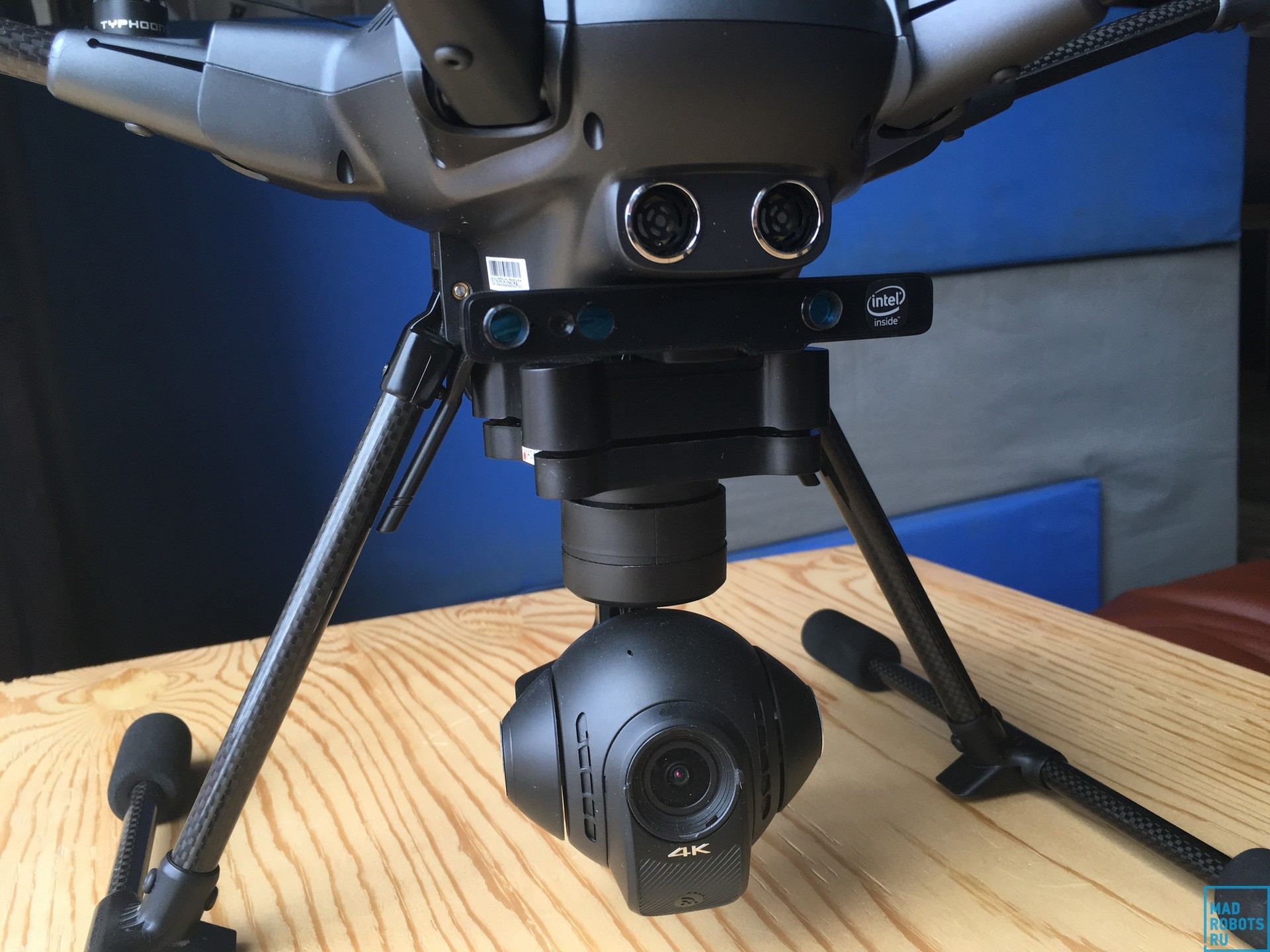 Гексакоптер Yuneec Typhoon H: профессиональный дрон с простым управлением - 15