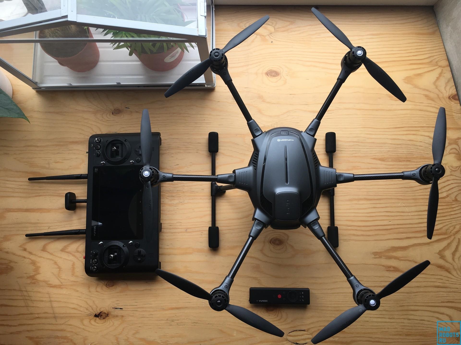 Гексакоптер Yuneec Typhoon H: профессиональный дрон с простым управлением - 2