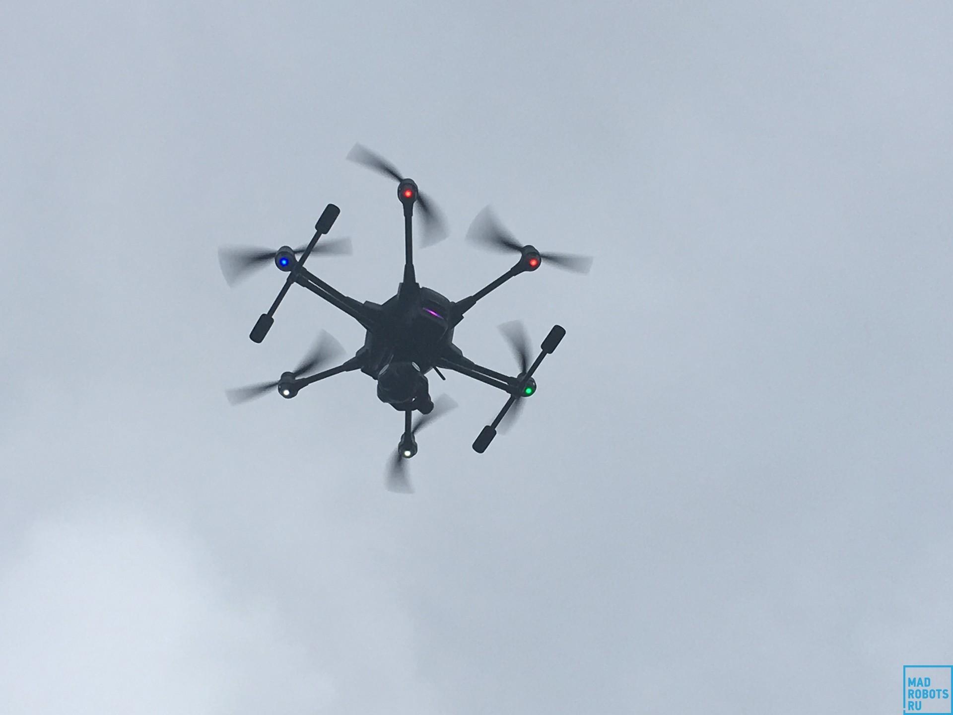 Гексакоптер Yuneec Typhoon H: профессиональный дрон с простым управлением - 23