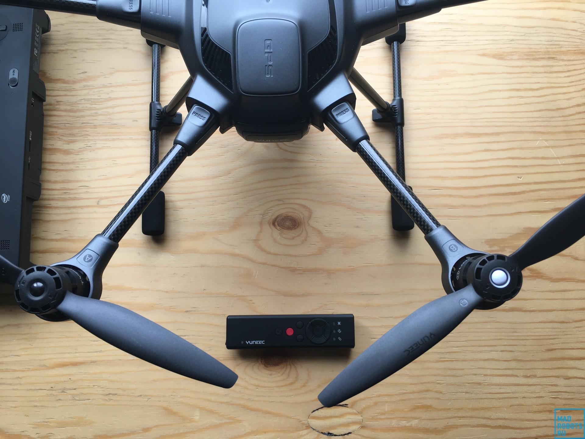 Гексакоптер Yuneec Typhoon H: профессиональный дрон с простым управлением - 3