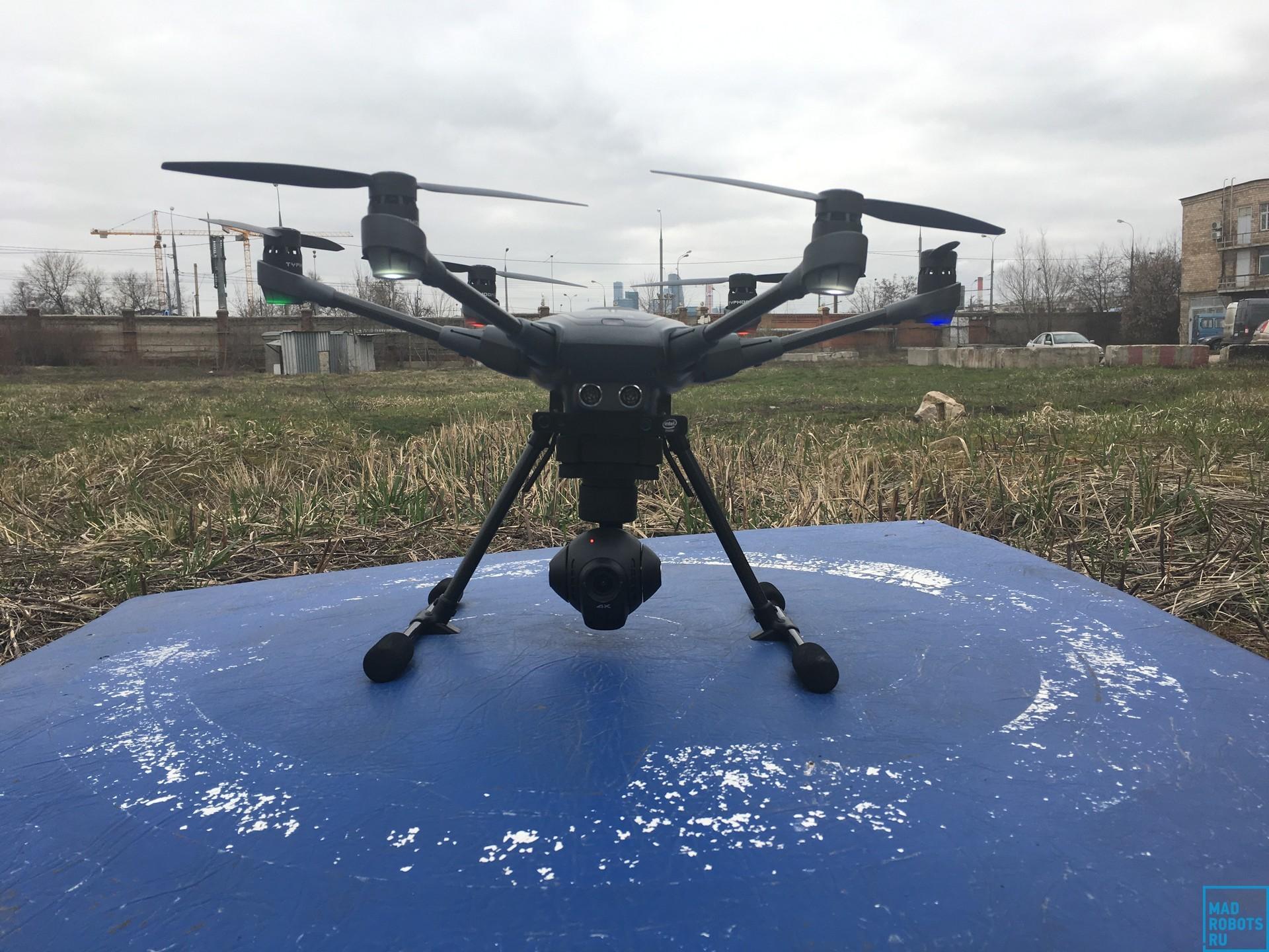 Гексакоптер Yuneec Typhoon H: профессиональный дрон с простым управлением - 6
