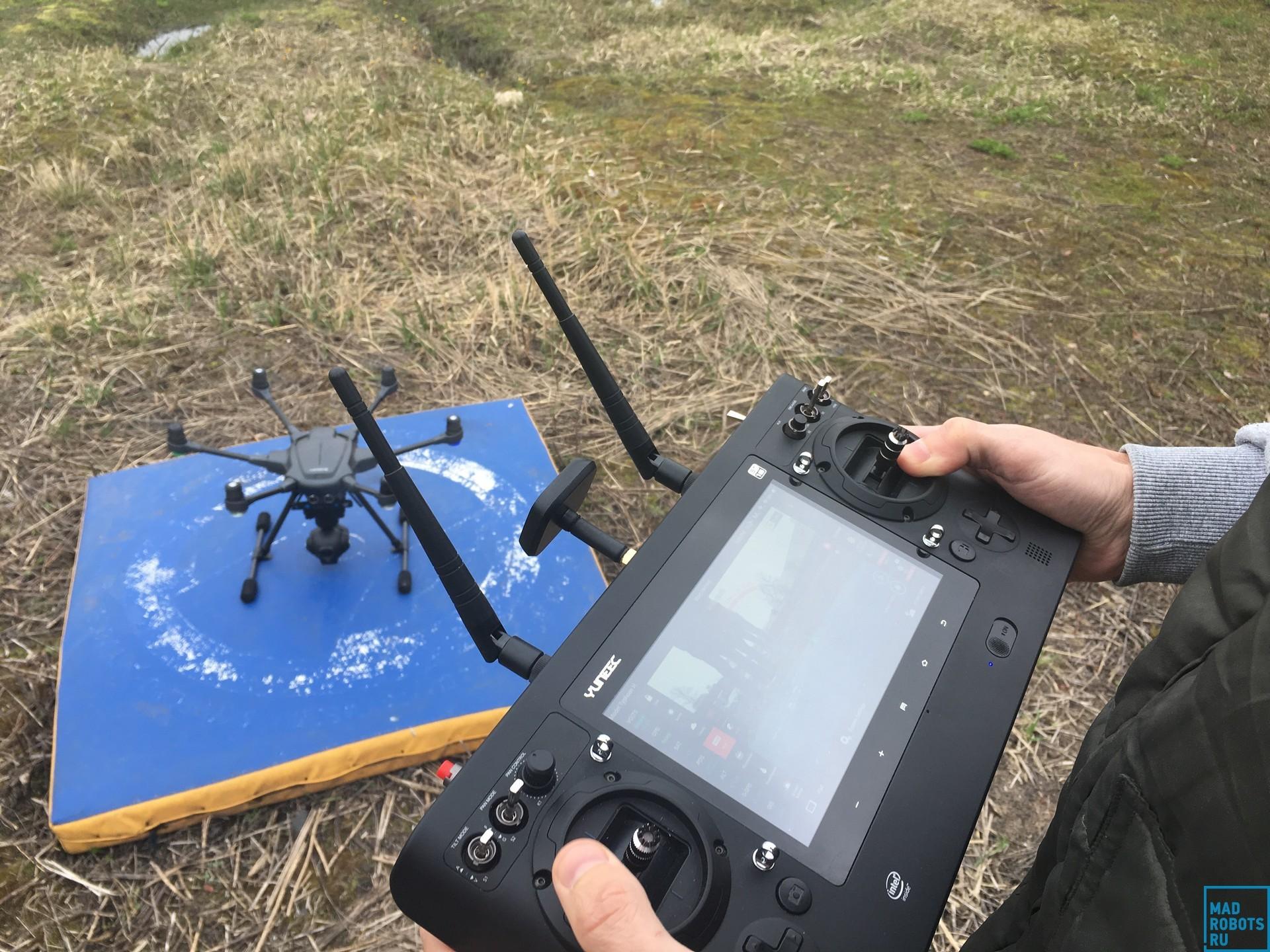 Гексакоптер Yuneec Typhoon H: профессиональный дрон с простым управлением - 7