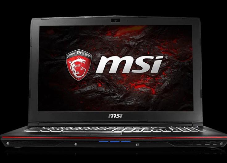 MSI представила игровые ноутбуки GP72VR 7RF Leopard Pro и GP62 Leopard Pro
