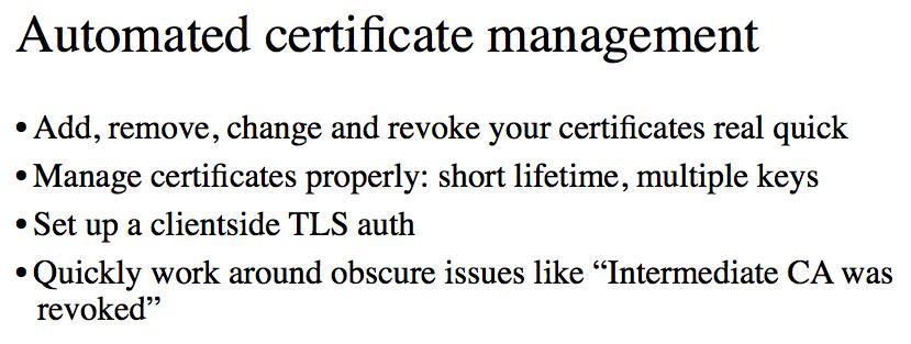 Масштабируя TLS - 28