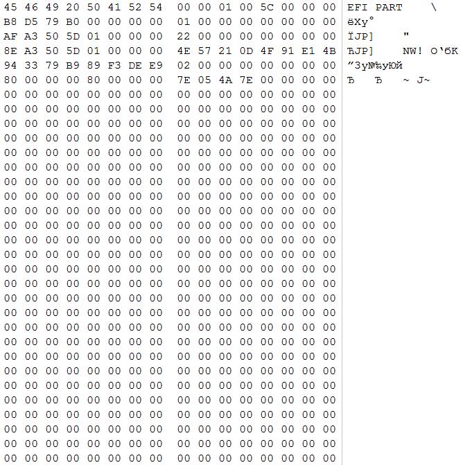 Восстановление данных из поврежденного массива RAID 50 - 3