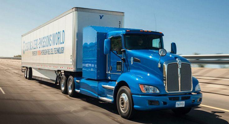 Toyota Portal Project — водородный грузовик полной массой 36 т