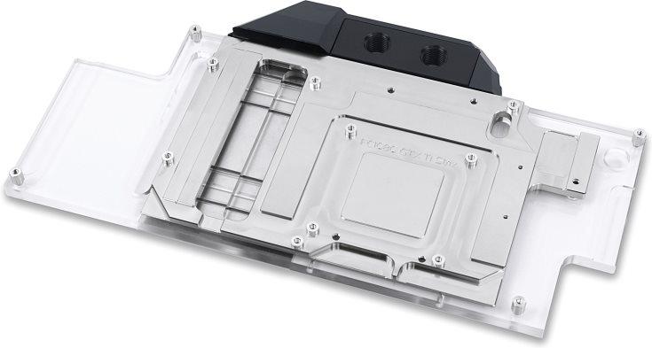 Цена водоблока EK-FC1080 GTX Ti Strix примерно равна 130 евро