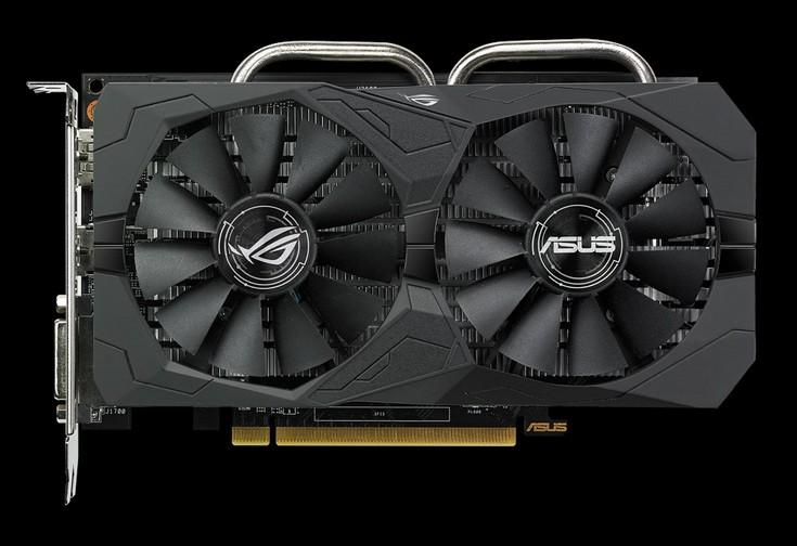 Адаптеры Asus Radeon RX 560 получили разъёмы дополнительного питания