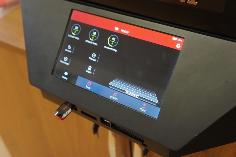 Raise3D N1 Dual обзор от компании REC - 13