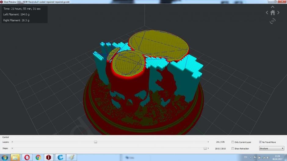Raise3D N1 Dual обзор от компании REC - 27