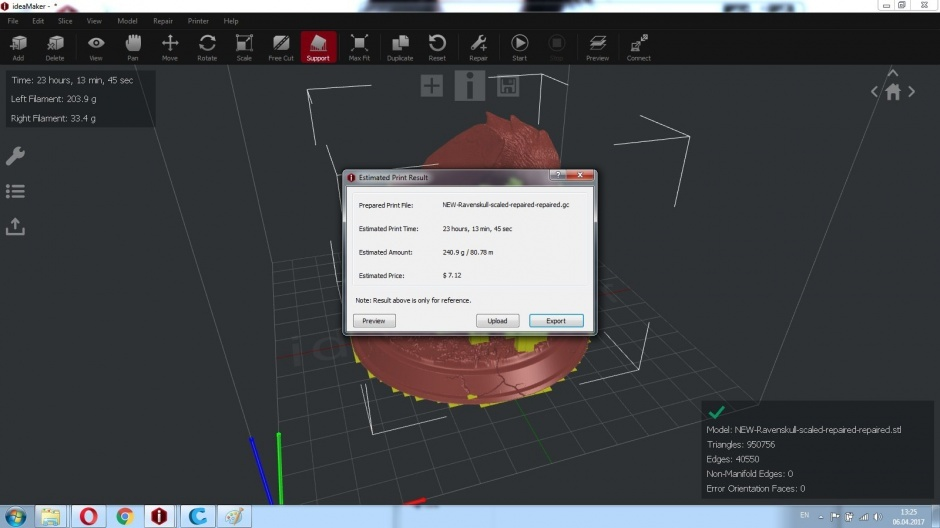 Raise3D N1 Dual обзор от компании REC - 29