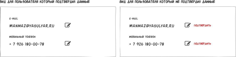 UX-рецепт подтверждения номера телефона и электронной почты - 4