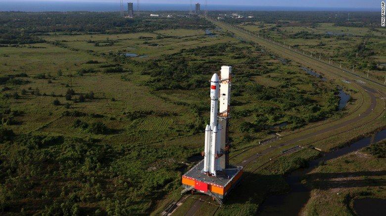 Китай запустил на орбиту свой первый космический грузовик - 1