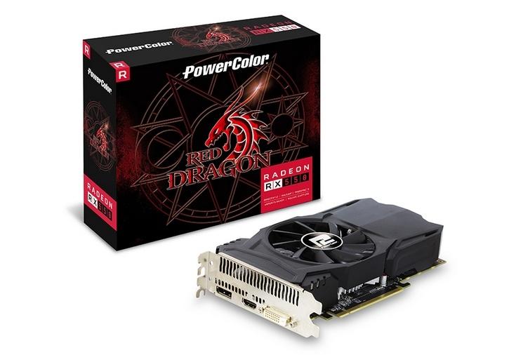 PowerColor Red Dragon Radeon RX 550 2GB GDDR5 получила простую систему охлаждения