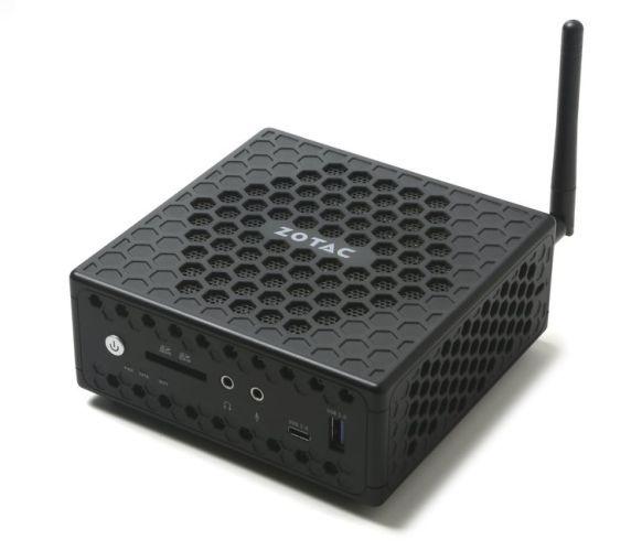 Мини-ПК Zotac Zbox CI327 получил процессор Apollo Lake