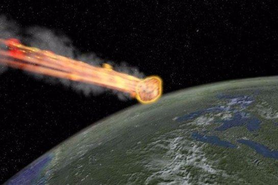 После столкновения с метеоритом на Земле поднимется разрушающий все ветер