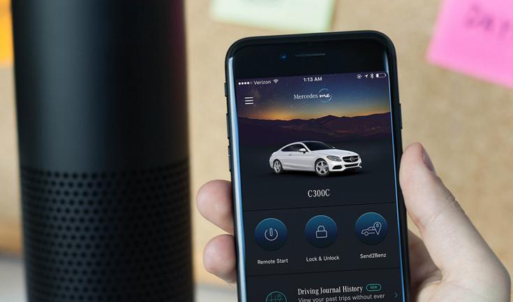Mercedes-Benz внедрила в свои авто поддержку самых популярных голосовых помощников